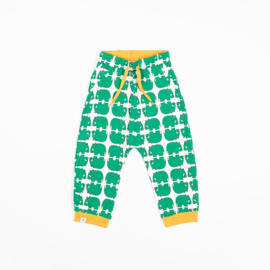 Alba of Denmark - Lucca Baby Pants Pepper Green Wanna Be an Animal
