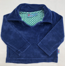 Froy&Dind - Blauw Velours 62/68