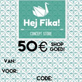 Shop Goed! t.w.v. 50 euro