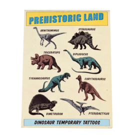 Rex London - Prehistoric Land Temporary Tattoos (2 sheets)