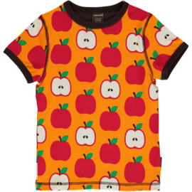 MAXOMORRA CLASSIC - Short Sleeve Top Apple