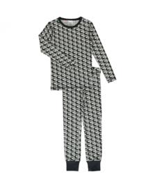 Maxomorra - Pyjama Set Longsleeve Slim Helicopter