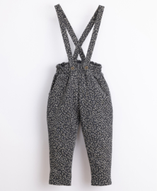 Play Up - Organic Cotton Trousers with a Pattern Frame