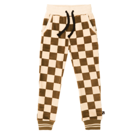 Carlijn Q - Sweatpants Velvet Checkers