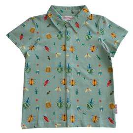 Baba Kidswear - Boys Shirt Shortsleeves Happy Beetles