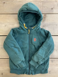 Fred & Ginger - Green Winter Hoodie 104/110
