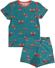 Maxomorra - Pyjama Set Short Sleeve Slim Crab