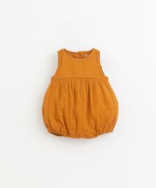 Play Up - Short Cloth Jumpsuit Hazel