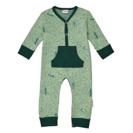 Baba - Bodysuit Jacquard Nature Green