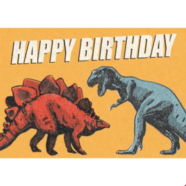 Rex London - Prehistoric Land Dinosaur Birthday Card