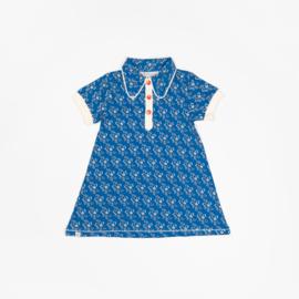 Alba Of Denmark - Julie Dress Snorkel Blue Liberty Love