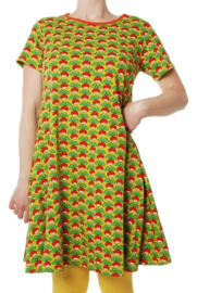 Duns Sweden - ADULT SS Radish Lemonade A-line dress