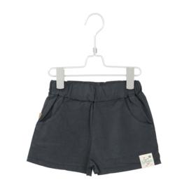 Lötiekids - Wide Shorts Solid Washed Black