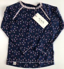 ALBA -  Ghita Blouse Estate Blue Wild Flower 104
