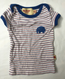 Alba - Luca Shirt Striped Blue 56/62