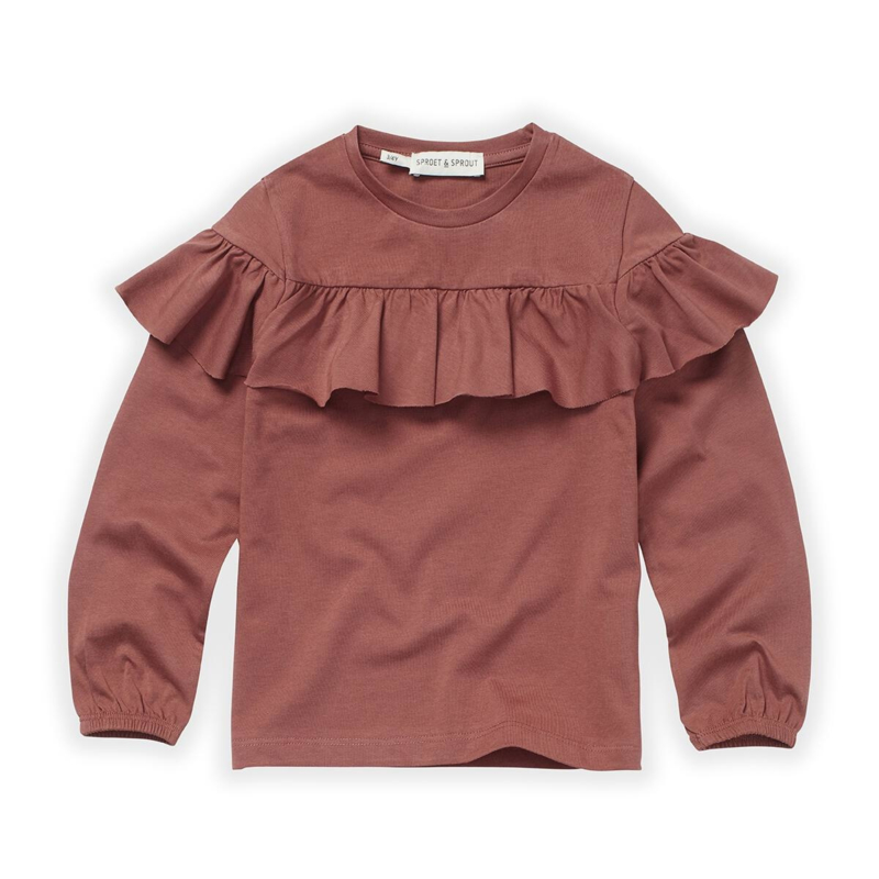Sproet&Sprout - T-Shirt Ruffle Fig