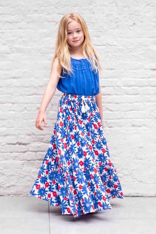 Lily Balou - Benedicte Skirt Flower Power