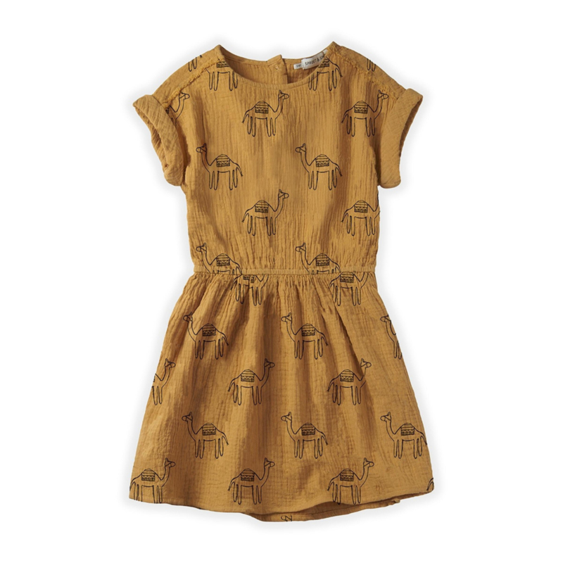 Sproet&Sprout - Dress Camel Print
