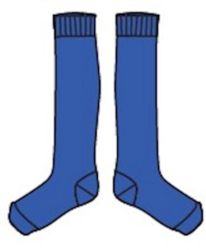 Lily Balou - Jordan Kneesocks Dazzling Blue