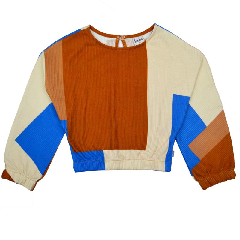 Baba - Clara Shirt Colorblock RIB