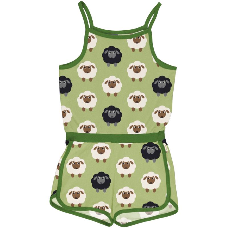 Maxomorra - Jumpsuit Short Sheep