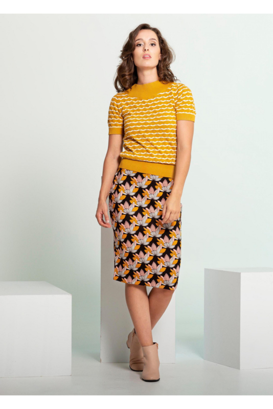4 Funky Flavours - Woman Knit Top Above and Beyond