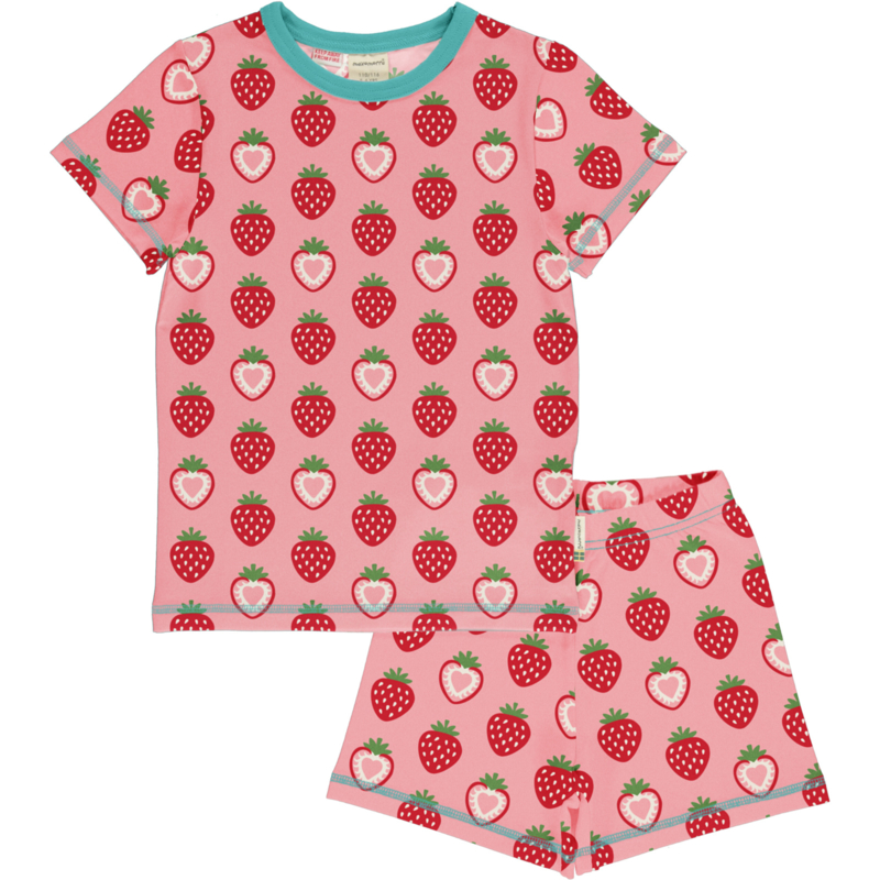 Maxomorra - Pyjama Set Strawberry