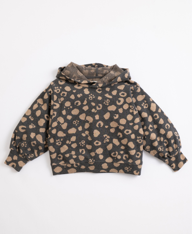Play Up - Cotton Hooded Jersey Frame
