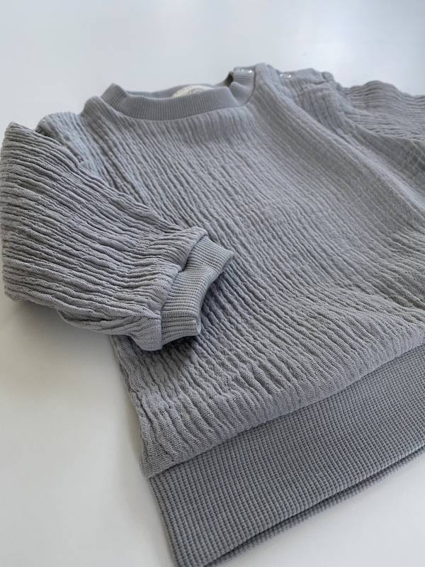 GRO Company - BIRGER Sweat Grey Dawn