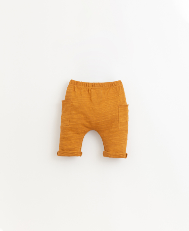 Play Up - Jersey Trousers with Side Pockets Hazel