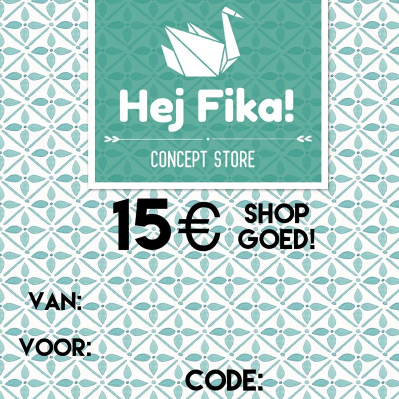 Shop Goed! t.w.v. 15 euro