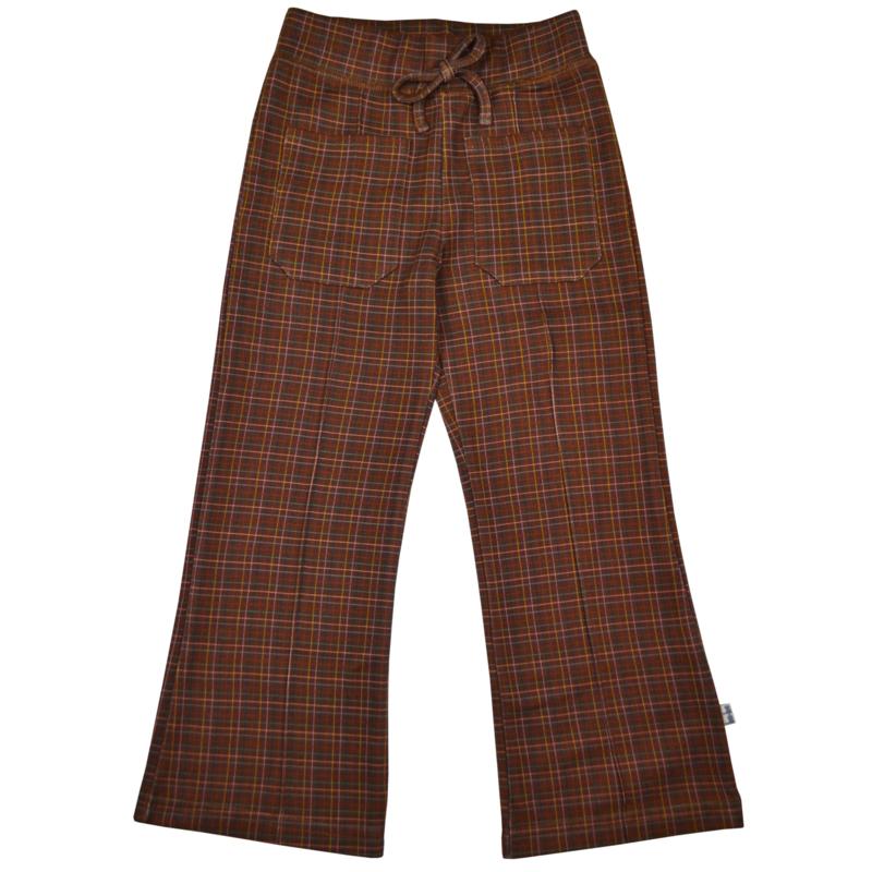 Baba - Pocket Pants Brown Check