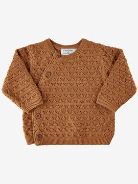Fixoni - Cardigan Knit Almond