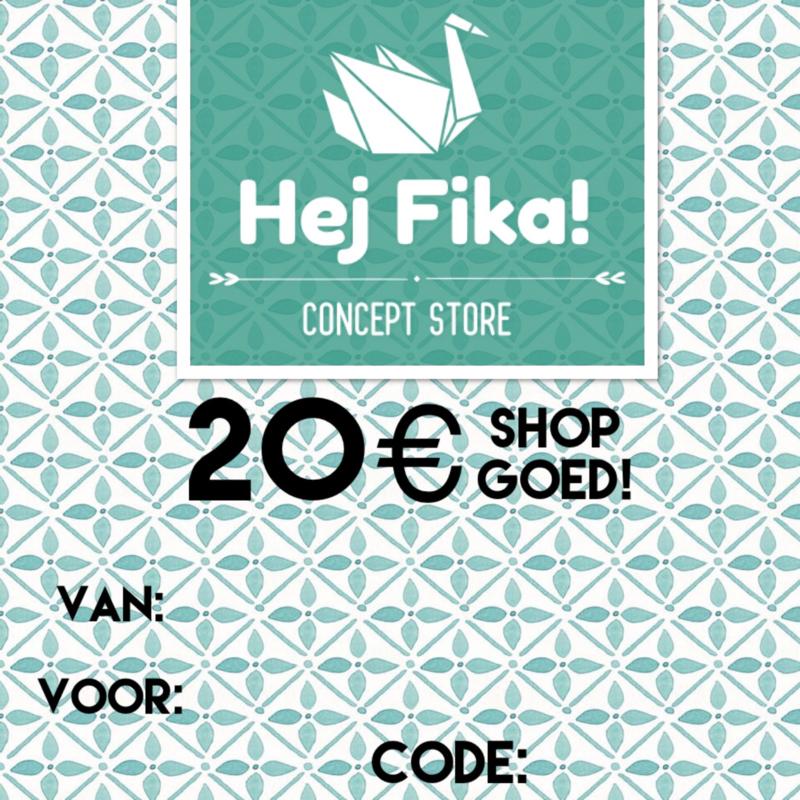 Shop Goed! t.w.v. 20 euro