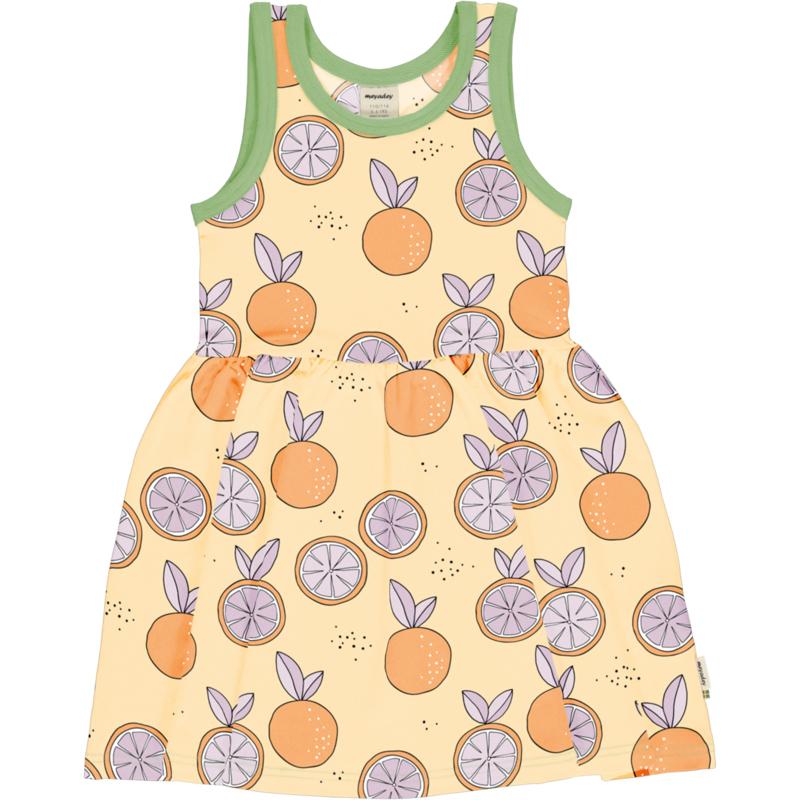 Meyadey - Dress Spin No Sleeves Citrus Sun