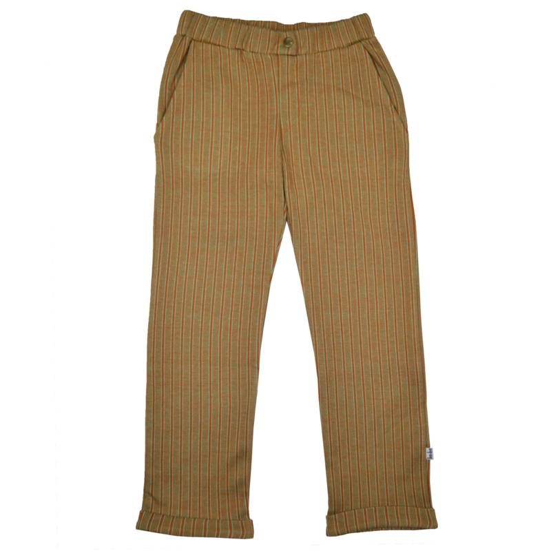 Baba - Boys Pants Jacquard Thin Stripes