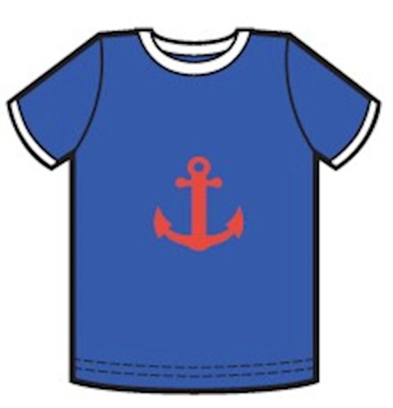 Lily Balou - Billie T-Shirt Dazzling Blue