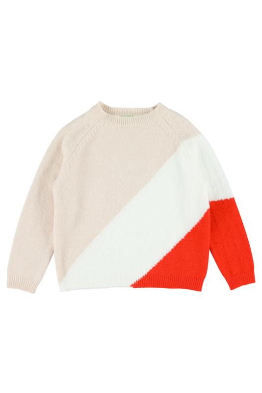 Lily Balou - Luda Colourblock Sweater Creole Pink