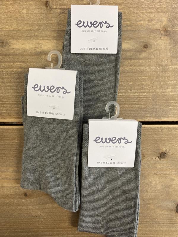 Ewers - Sok Uni Grau Melange