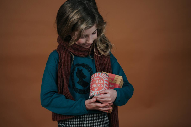 Sproet&Sprout - Knitted Scarf Fig