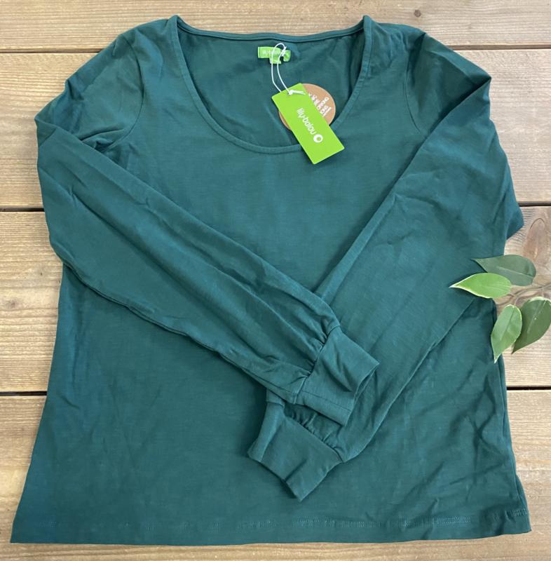 Lily Balou Ladies - Isolde Top Dark Green S