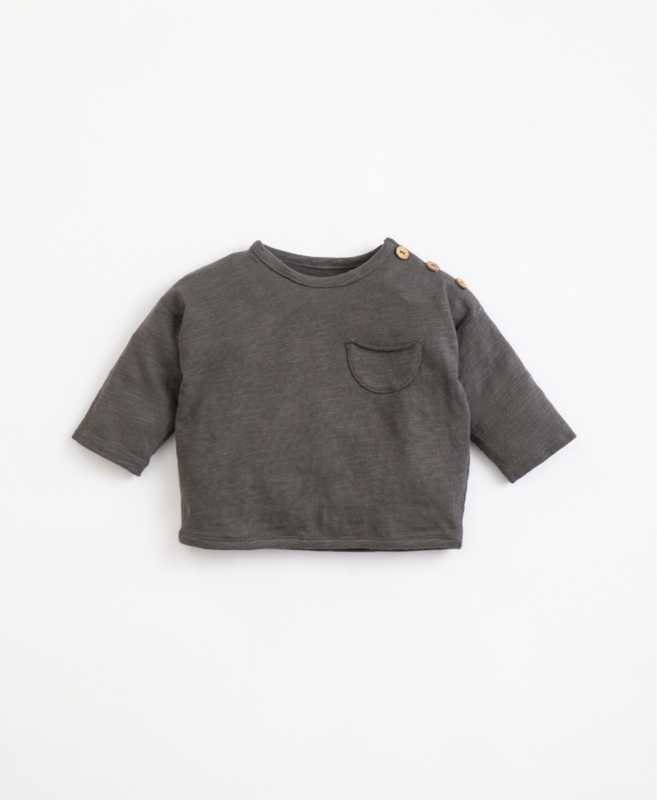 Play Up - T-Shirt  with Pocket Frame