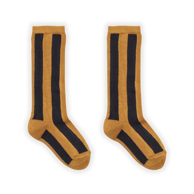 Sproet&Sprout - Socks Stripe Mustard