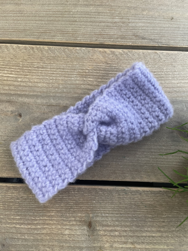 Tante Millie - Lila Knitted Headband 48/50cm