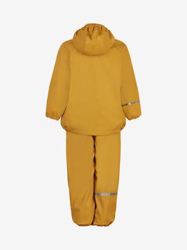 Celavi - Rainwear Set Solid fleece Mineral Yellow