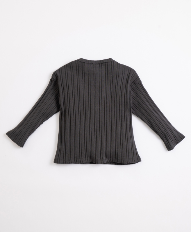 Play Up - T-Shirt with Ribbing Frame