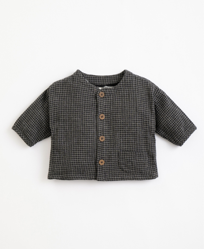 Play Up - Shirt with Vichy Pattern Frame