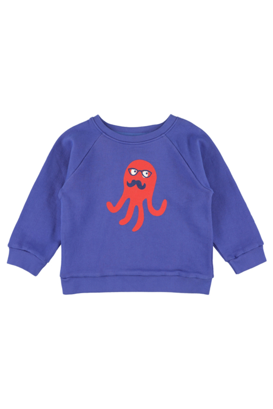 Lily Balou - Sis Embroided Sweater Dazzling Blue