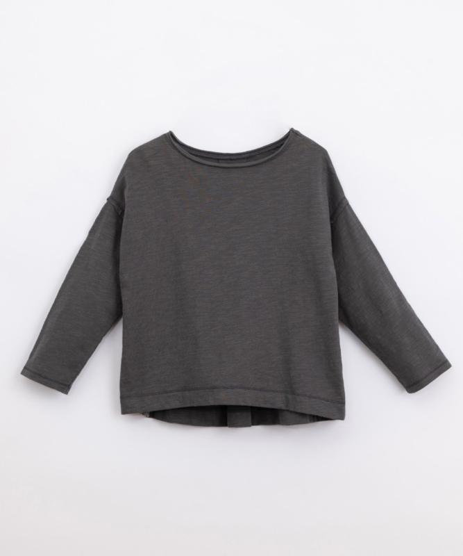 Play Up - Organic cotton T-shirt with pleat Frame