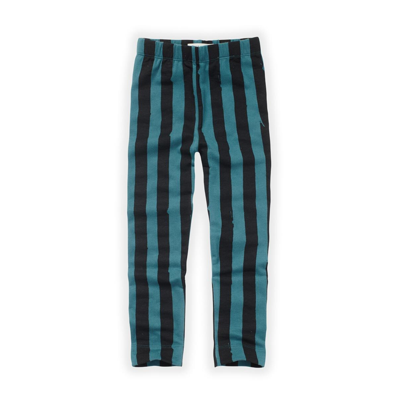 Sproet&Sprout - Legging Painted Stripe Pine Green
